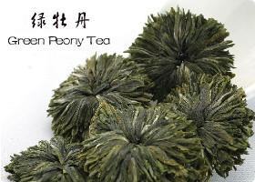 Green Peony Tea Lv Mu Dan Tea Beautiful Handcraft Green Tea