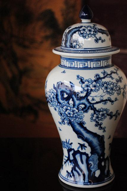 A Complete Set Of Blue And White Porcelain Vase Chinese Gongfu Tea Set Chinese Tea Ceremony Style Ceramic Teaware