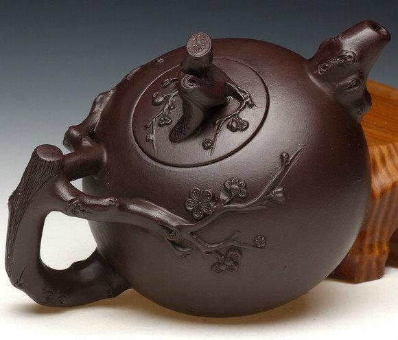 Yong Mei Teapot Chinese Gongfu Teapot Yixing Pottery Handmade Zisha Clay Teapot Guaranteed 100%Genuine Original Mineral Fired