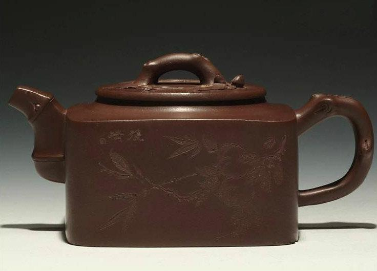 Shi Fang Hu Chinese Gongfu Teapot Yixing Pottery Handmade Zisha Teapot Guaranteed 100%Genuine Original Mineral Fired
