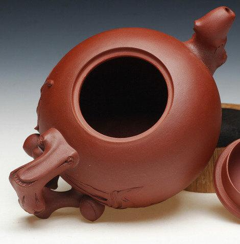 Shou Tao Teapot Yixing Zisha Pottery Handmade Zisha Clay Teapot Guaranteed 100%Genuine Original Mineral Fired