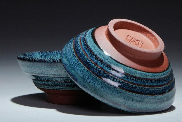 8 Jun Kiln Handmade Tea Bowl Chinese Antique Ceramics Porcelains One Of Five Famous Porcelain Kilns In The Song Dynasty.