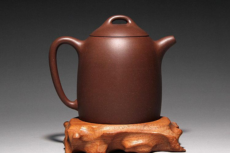 Qin-Quan Teapot Chinese Congou Teapot Yixing Pottery Handmade Zisha Clay Teapot Guaranteed 100%Genuine Original Mineral Fired