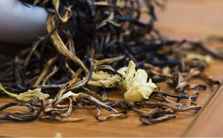 Blending Black Tea Rose Black Tea Jasmine Black Tea Osmanthus Black Tea
