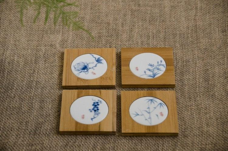 Chinese Gong Fu Tea Ceremony Tea Ware:Tea Canister Tea Cup Mat And Tea Towel Tea Ware Accessory