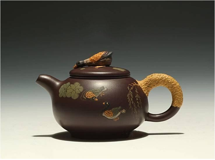 Xiao Ya Hu Chinese Gongfu Teapot Yixing Pottery Handmade Zisha Teapot Guaranteed 100%Genuine Original Mineral Fired