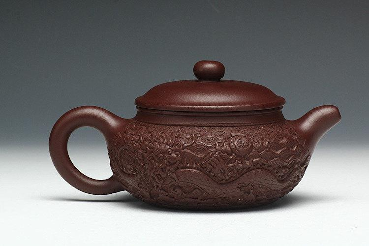 Fang Gu Teapot Premium And Treasure Yixing Zisha Pottery Handmade Zisha Clay Teapot Guaranteed 100%Genuine Original Mineral Fired