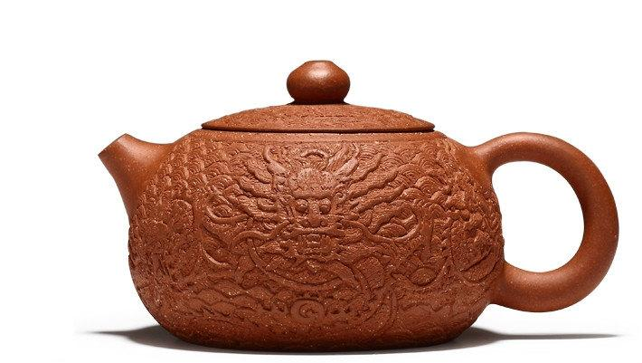 Dragon Teapot Yixing Pottery Handmade Zisha Clay Teapot Guaranteed 100%Genuine Original Mineral Fired