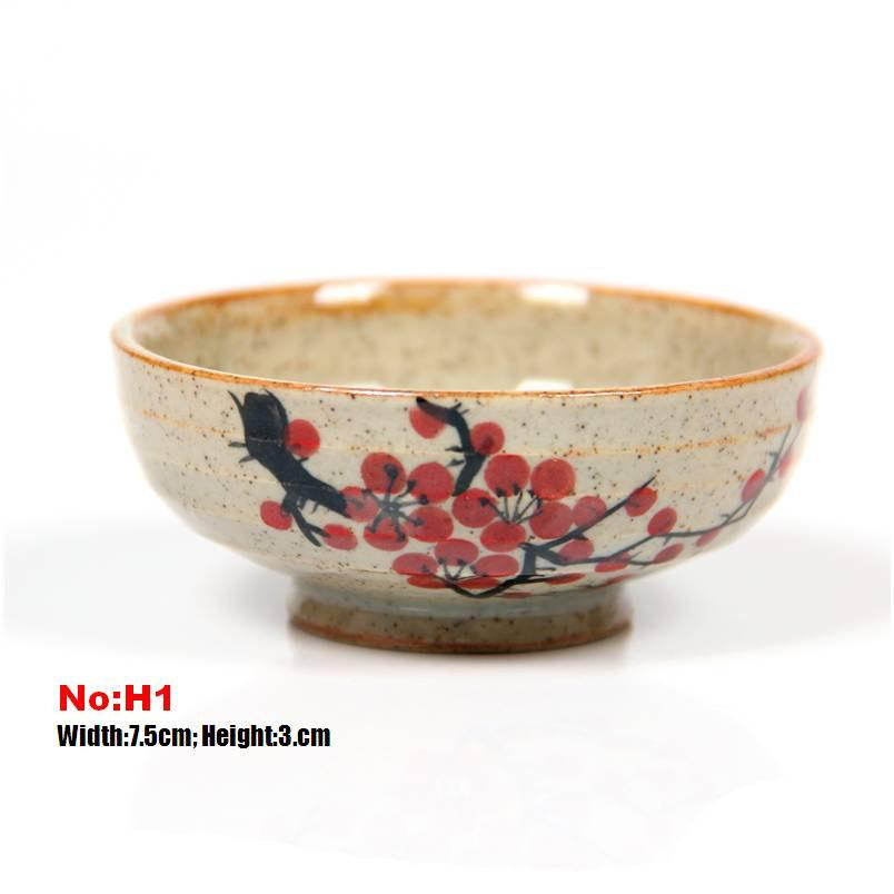 10 Handmade Crude Ceramic Tea Cups Handmade And Hand-Drawing Rude Ceramic Tea Set